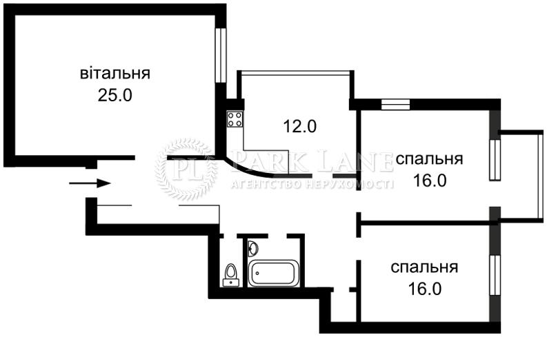 Квартира ул. Михайловская, 19, Киев, J-26903 - Фото 2