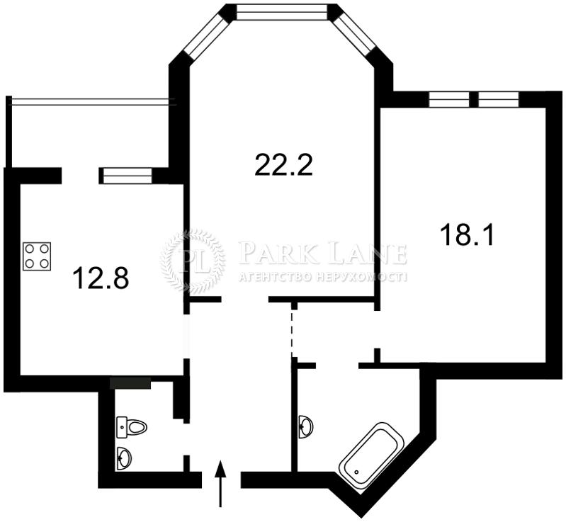 Квартира Бажана Николая просп., 12, Киев, R-23463 - Фото 2