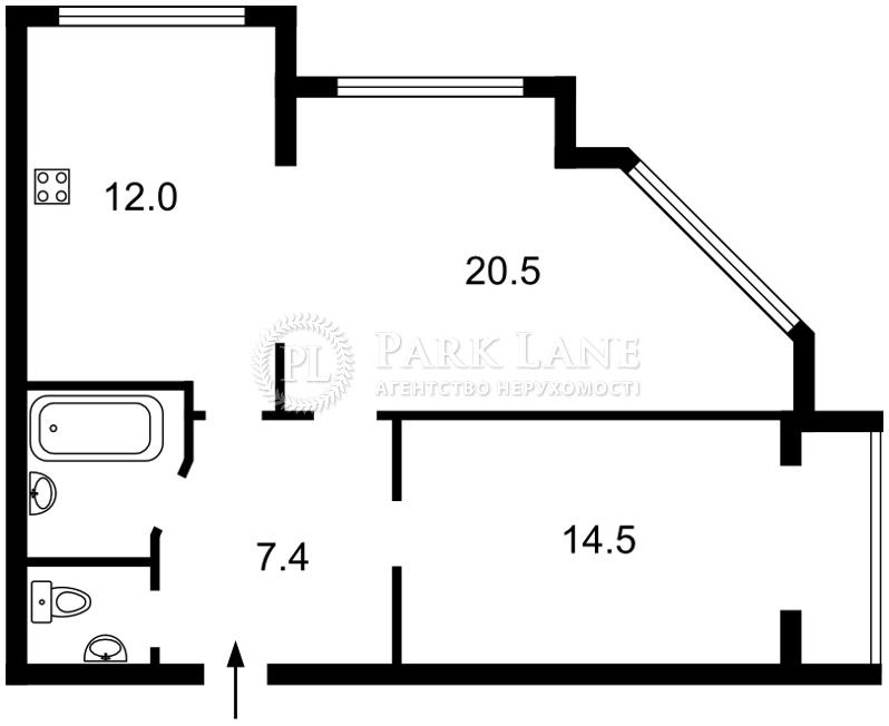 Квартира ул. Большая Китаевская, 53, Киев, Z-64175 - Фото 2