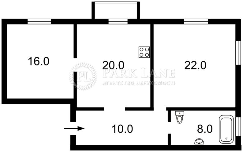 Квартира ул. Рейтарская, 30, Киев, R-23545 - Фото 2