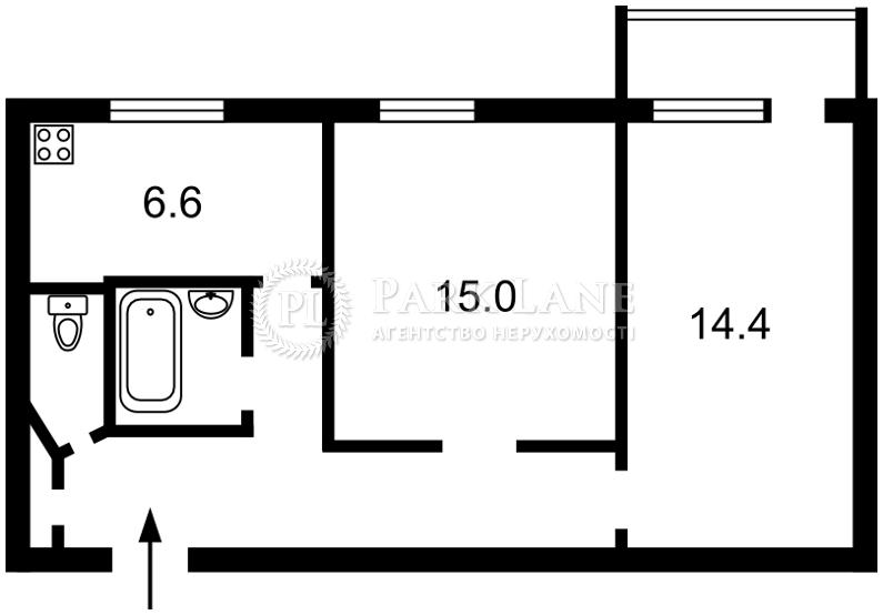 Квартира ул. Пчелки Елены, 6а, Киев, Z-482851 - Фото 2