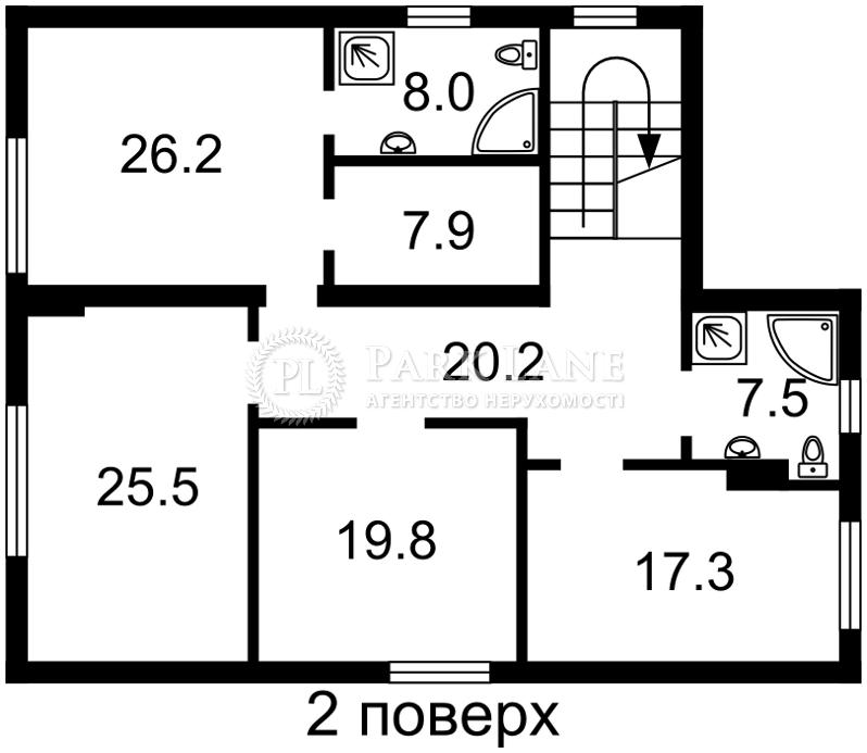Будинок вул. Лісова, Романків, R-16518 - Фото 3