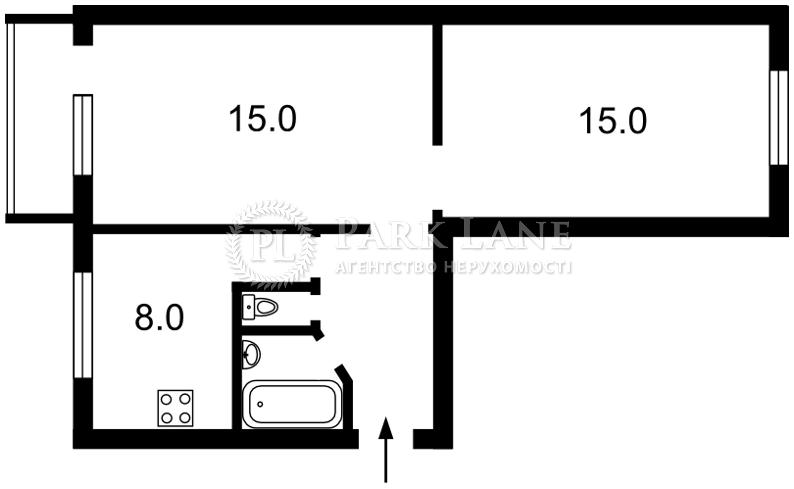 Квартира ул. Выборгская, 89а, Киев, J-26907 - Фото 2