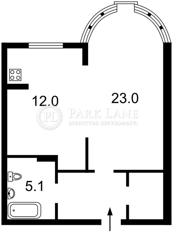Квартира ул. Черновола Вячеслава, 27, Киев, Z-156973 - Фото 2