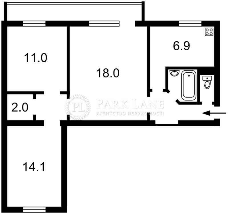 Квартира ул. Большая Васильковская, 102, Киев, R-21255 - Фото 2