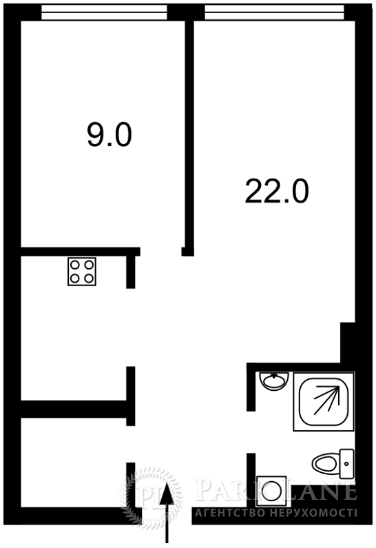 Квартира ул. Саперное Поле, 12, Киев, J-26684 - Фото 2