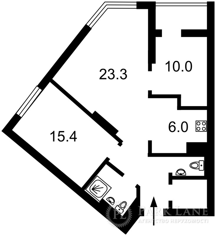 Квартира ул. Саперное Поле, 12, Киев, R-23365 - Фото 2