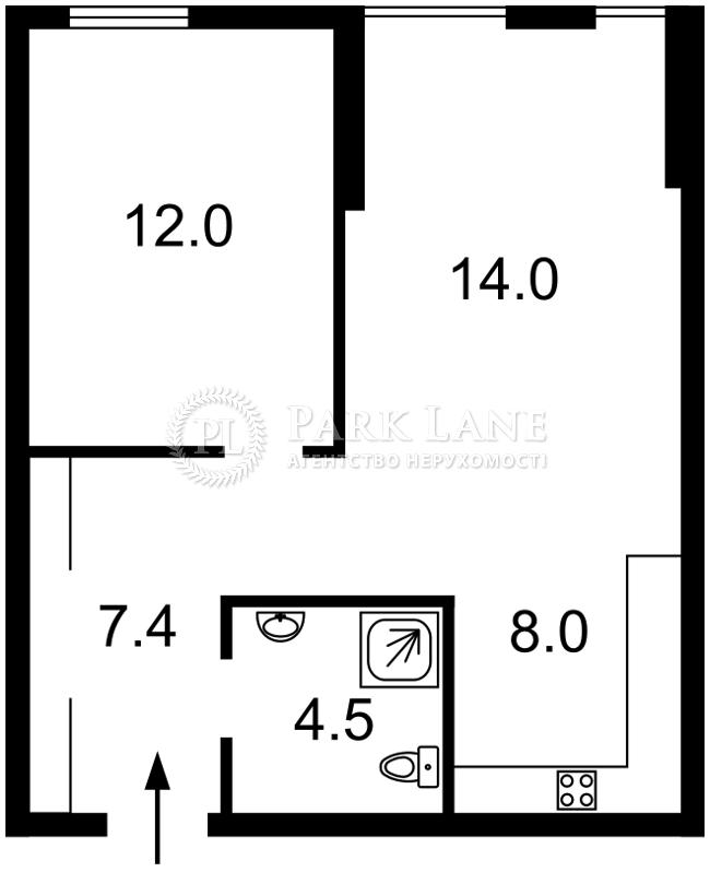 Квартира ул. Регенераторная, 4 корпус 14, Киев, R-23709 - Фото 2