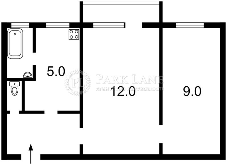 Квартира ул. Антонова Авиаконструктора, 39, Киев, Z-1292971 - Фото 2