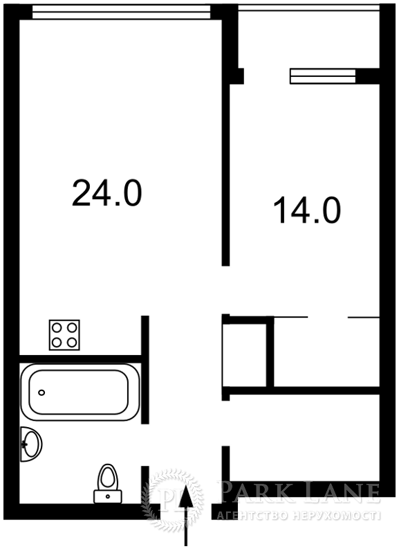 Квартира ул. Джона Маккейна (Кудри Ивана), 7, Киев, R-23516 - Фото 2