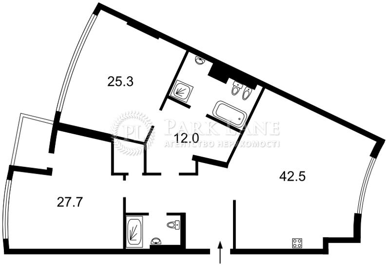 Квартира ул. Бусловская, 12, Киев, L-26002 - Фото 2