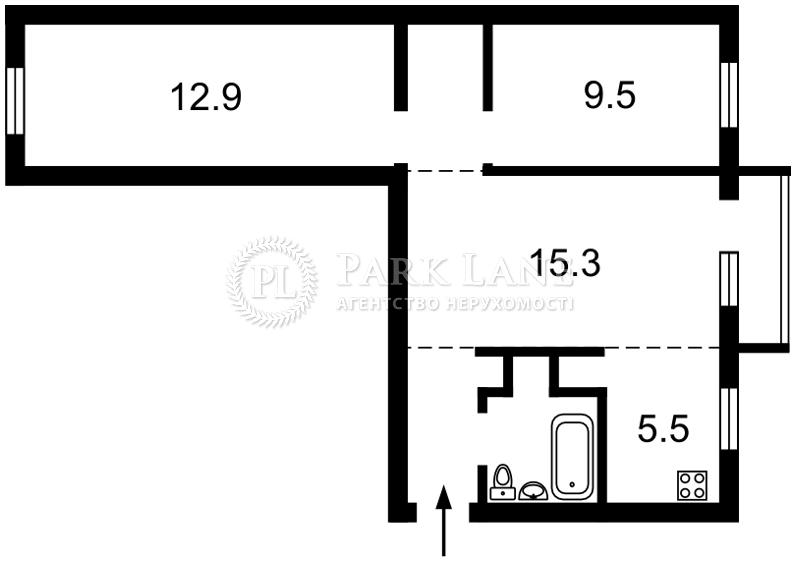 Квартира ул. Щусева, 12, Киев, Z-396842 - Фото 2