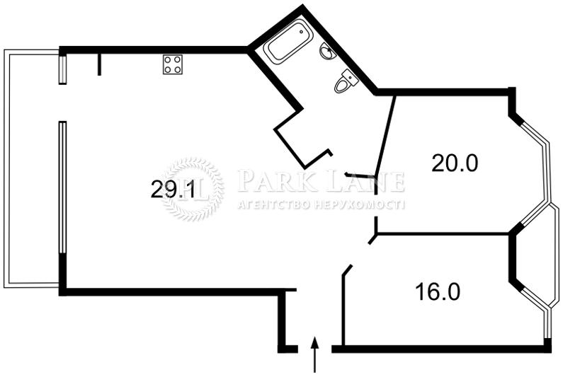 Квартира ул. Владимирская, 49а, Киев, X-14560 - Фото 2