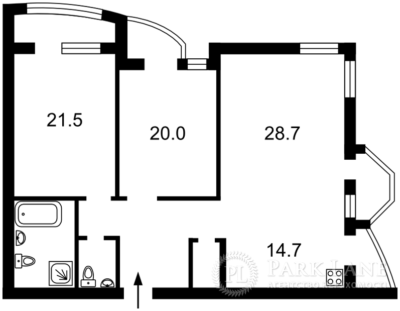 Квартира ул. Львовская, 22, Киев, X-12846 - Фото 2