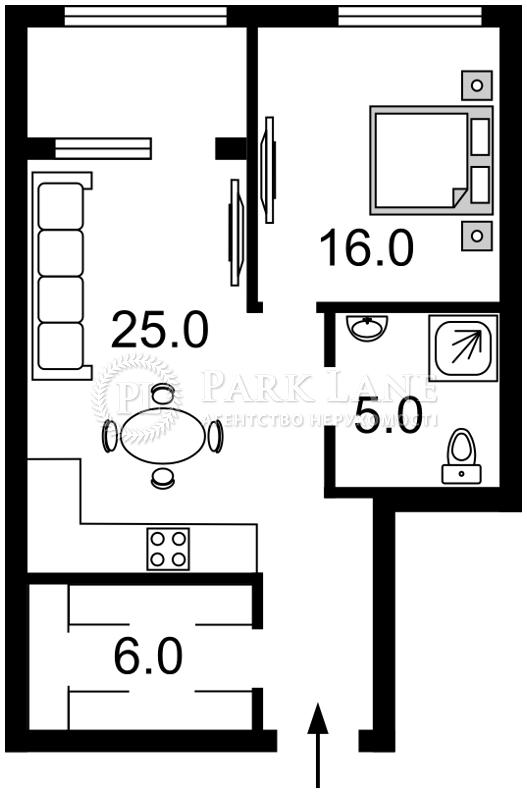 Квартира ул. Деловая (Димитрова), 1/2, Киев, K-27507 - Фото 2