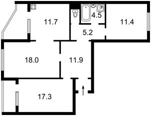 Квартира B-98495, Пулюя Ивана, 2, Киев - Фото 4