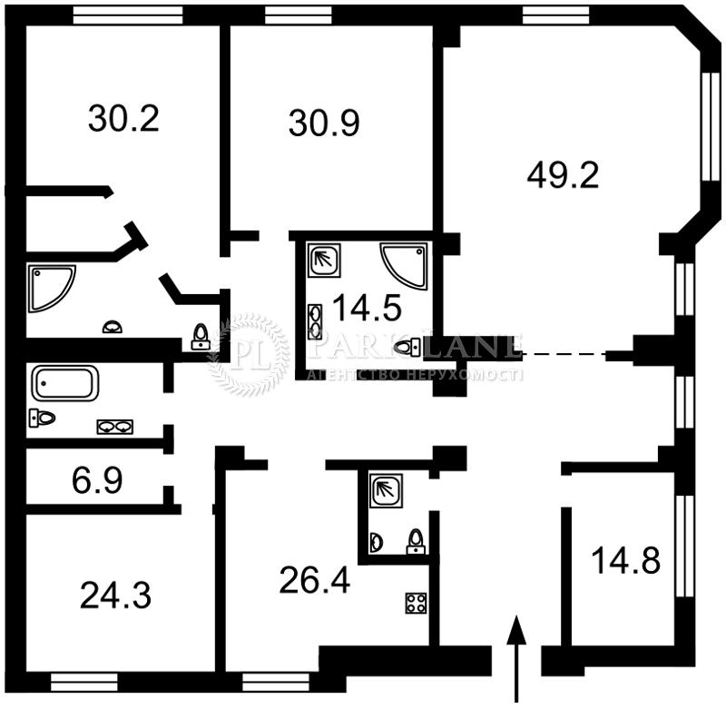 Квартира ул. Большая Житомирская, 20, Киев, K-27591 - Фото 2