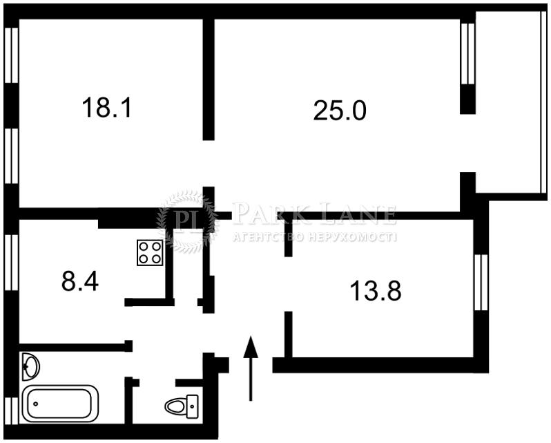 Квартира ул. Бульварно-Кудрявская (Воровского) , 31а, Киев, R-24756 - Фото 2