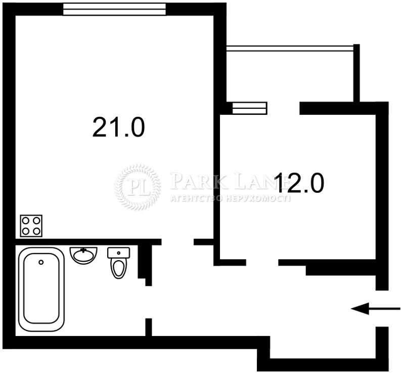 Квартира ул. Краснопольская, 2г, Киев, Z-233190 - Фото 2