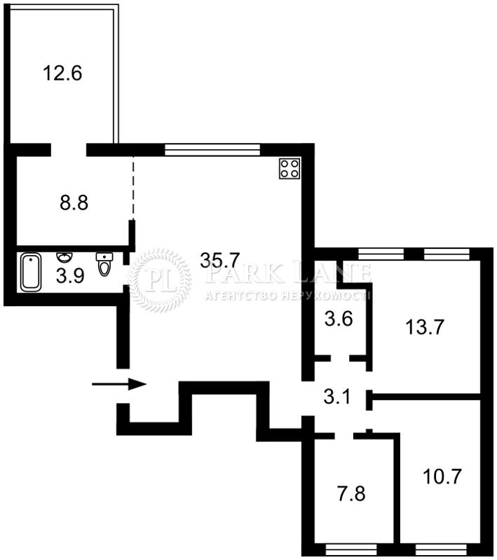 Квартира Столичное шоссе, 149, Козин (Конча-Заспа), K-27663 - Фото 2
