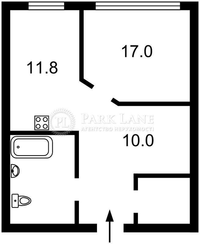 Квартира ул. Бендукидзе Кахи, 2, Киев, Z-396575 - Фото 2