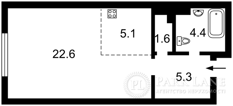 Квартира ул. Максимовича Михаила (Трутенко Онуфрия), 26, Киев, R-25170 - Фото 2