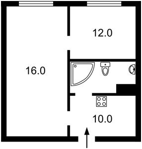 Квартира Z-265013, Ахматовой, 22, Киев - Фото 6