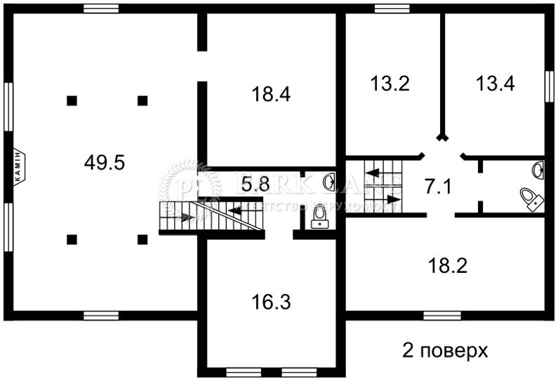 Дом ул. Толстого, Ирпень, Z-519087 - Фото 3