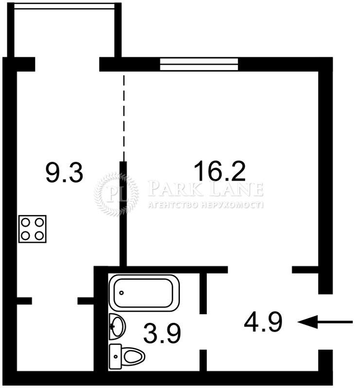 Квартира ул. Большая Васильковская, 29, Киев, O-454 - Фото 3