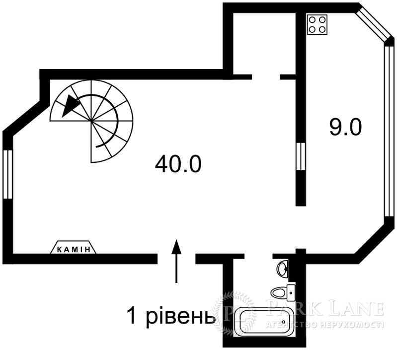 Квартира N-20667, Хмельницкого Богдана, 32, Киев - Фото 5