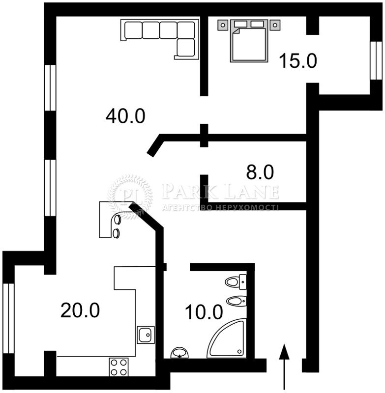 Квартира ул. Малевича Казимира (Боженко), 53/30, Киев, J-1812 - Фото 2