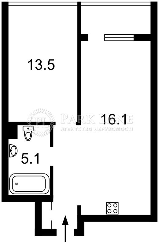 Квартира ул. Джона Маккейна (Кудри Ивана), 7, Киев, Z-327239 - Фото 2