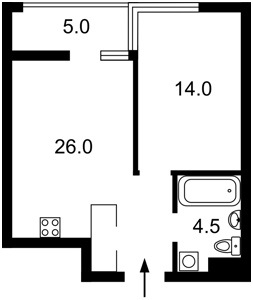 Квартира J-27301, Предславинская, 55а, Киев - Фото 8