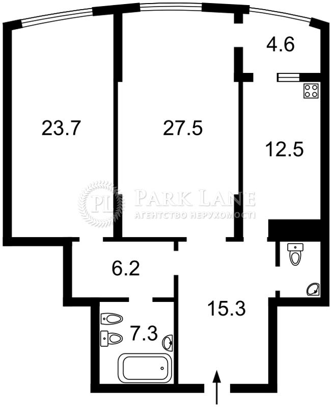 Квартира ул. Преображенская (Клименко Ивана), 8б, Киев, Y-1513 - Фото 2