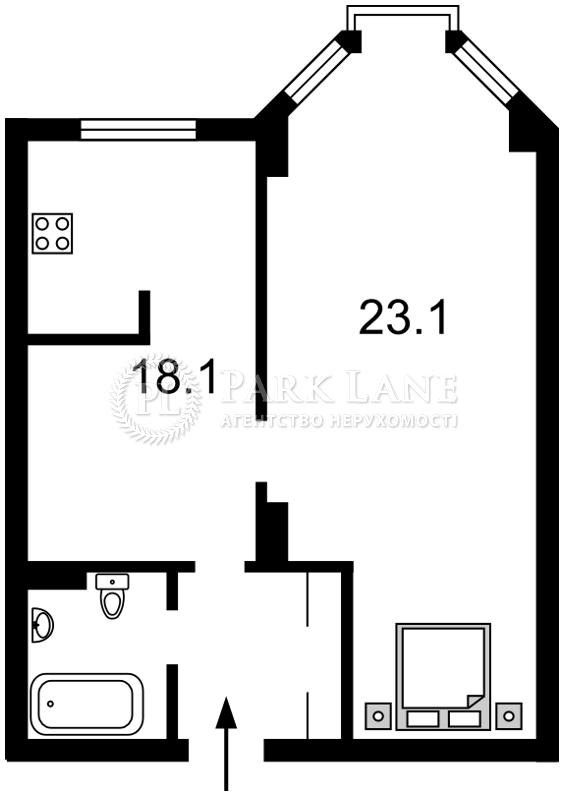 Квартира вул. Полтавська, 10, Київ, Z-348189 - Фото 2