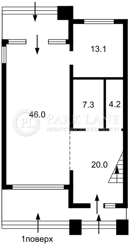 Дом N-20738, Днепровская, Лебедевка (Вышгородский) - Фото 2
