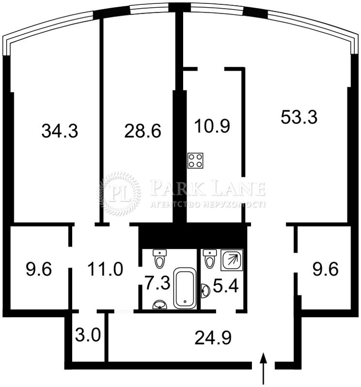 Квартира Кловский спуск, 7, Киев, Z-1762457 - Фото 2