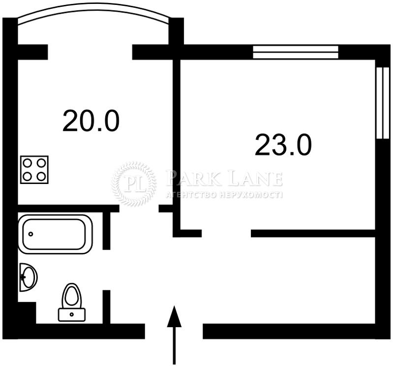 Квартира Героев Сталинграда просп., 10а корпус 1, Киев, R-25633 - Фото 2