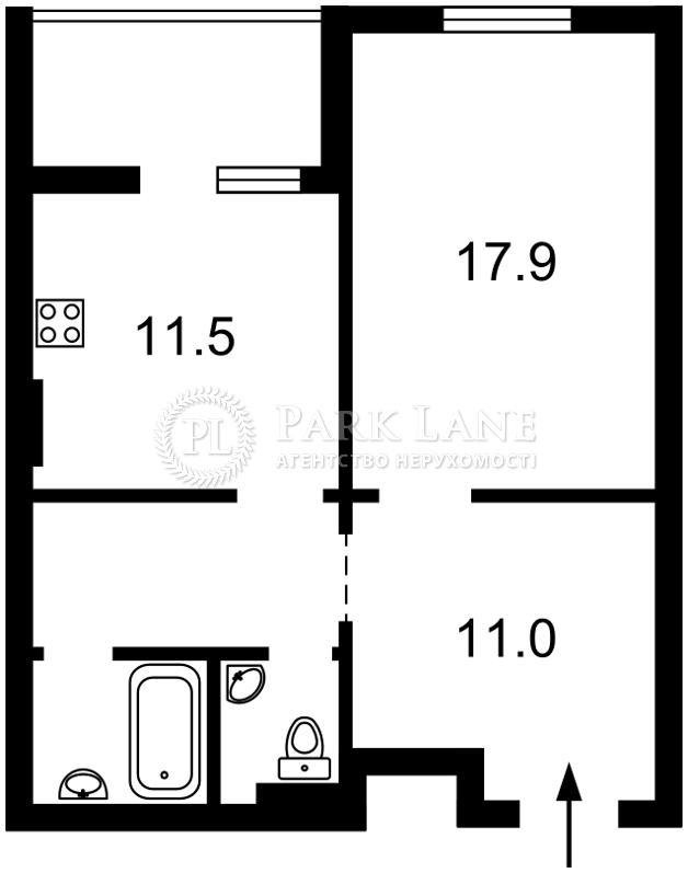 Квартира Ясиноватский пер., 11, Киев, Z-524101 - Фото 2