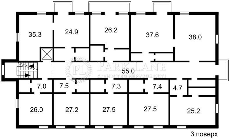 Нежитлове приміщення, вул. Дніпродзержинська, Київ, J-24974 - Фото 4