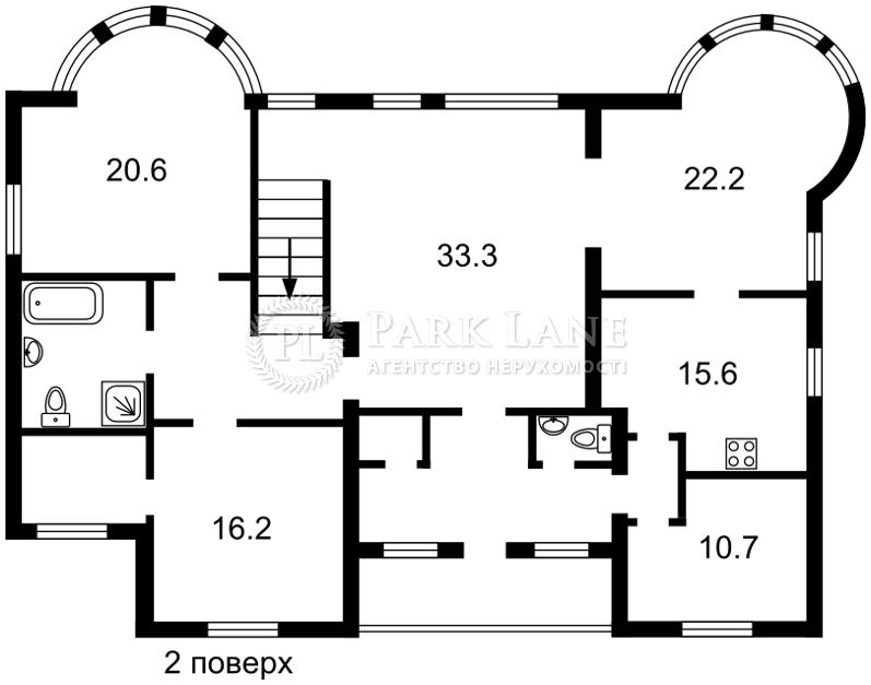 Будинок Хлепча, B-98761 - Фото 3