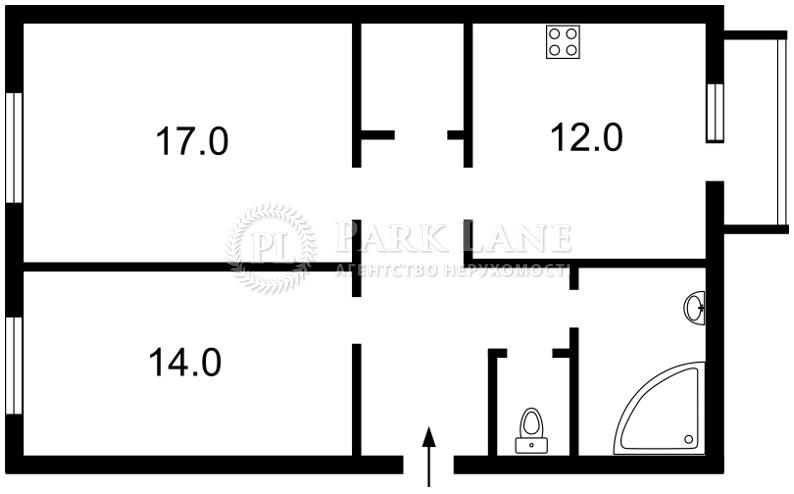 Квартира ул. Институтская, 22/7, Киев, Z-524911 - Фото 2