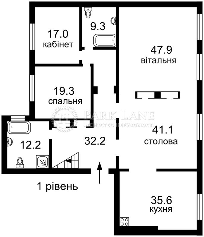 Квартира ул. Большая Житомирская, 8а, Киев, N-20830 - Фото 2