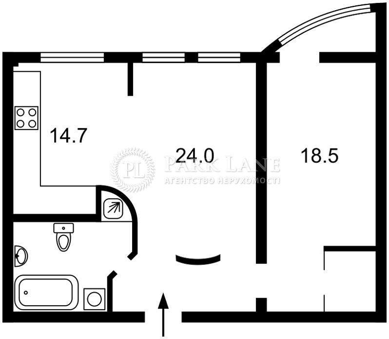 Квартира ул. Шота Руставели, 44, Киев, C-76424 - Фото 2