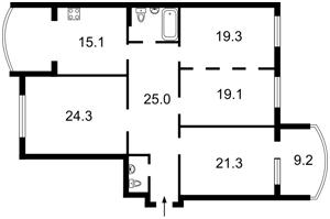 Квартира Z-526484, Тимошенко Маршала, 21 корпус 6, Киев - Фото 2