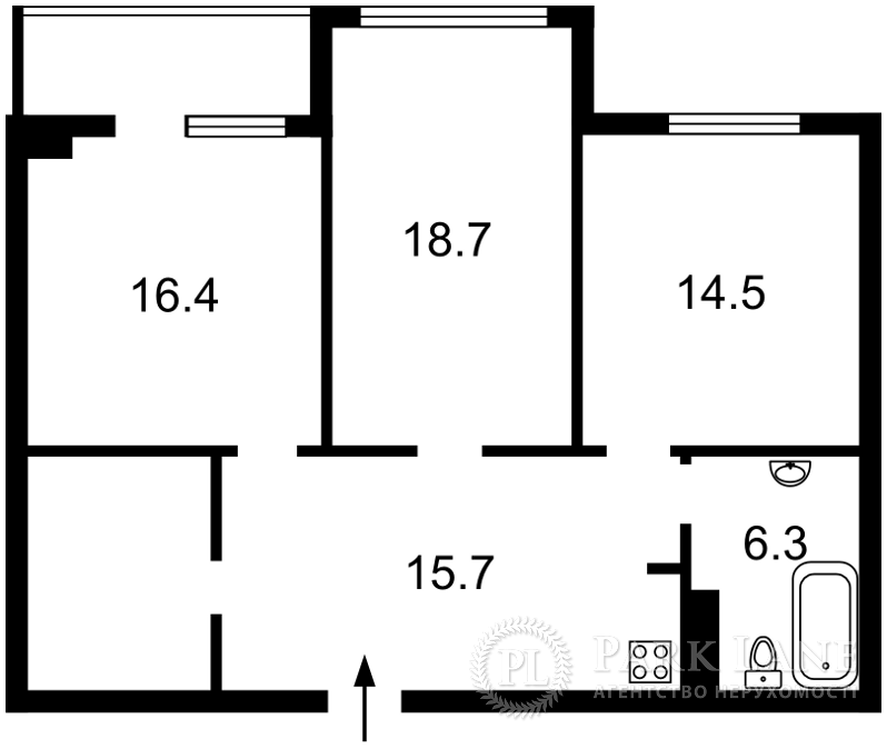 Квартира ул. Коновальца Евгения (Щорса), 36е, Киев, R-14837 - Фото 2