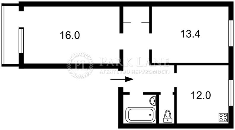 Квартира ул. Мечникова, 10/2, Киев, R-25780 - Фото 2