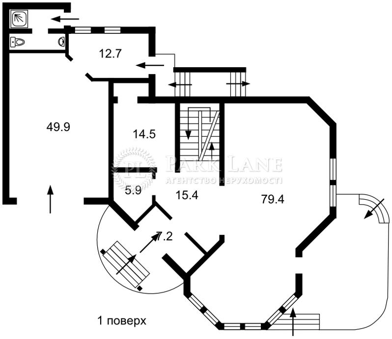 Дом ул. Малиновая, Киев, B-98839 - Фото 3