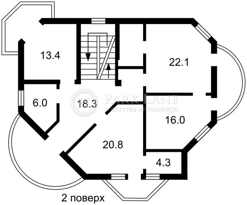 Дом ул. Малиновая, Киев, B-98839 - Фото 4