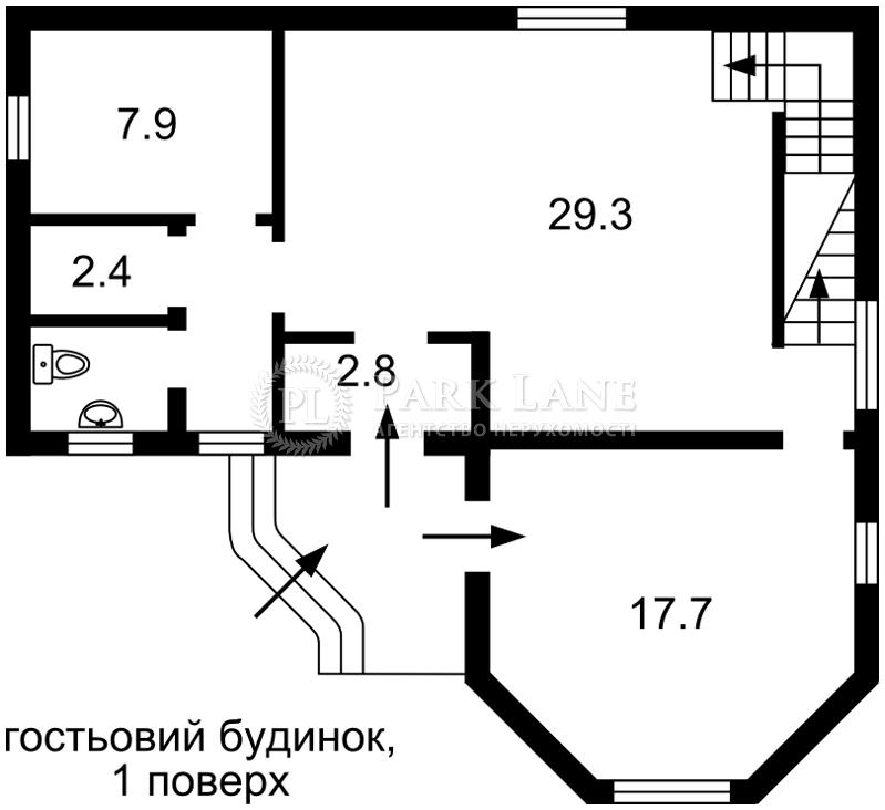 Дом ул. Малиновая, Киев, B-98839 - Фото 5